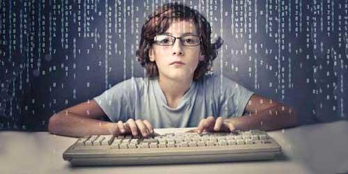 Young Boy Hacker